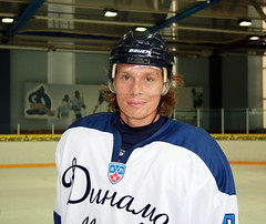 Maxim Afinogenov in Dynamo colors.