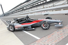 Looks good @IMS (IZOD IndyCar Series) Tags: car design technology chassis 2012 indycar dallara