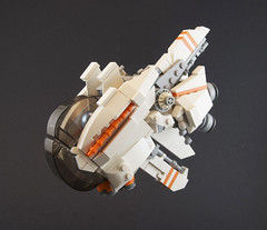 """Mola"" Recon Probe (Titolian) Tags: lego space probe harvest future mineral spaceship corp drill mola titus molas unmanned drone questionablecircumstances"