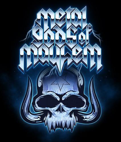 metal gods + metal skull