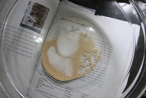 yeast sugar salt