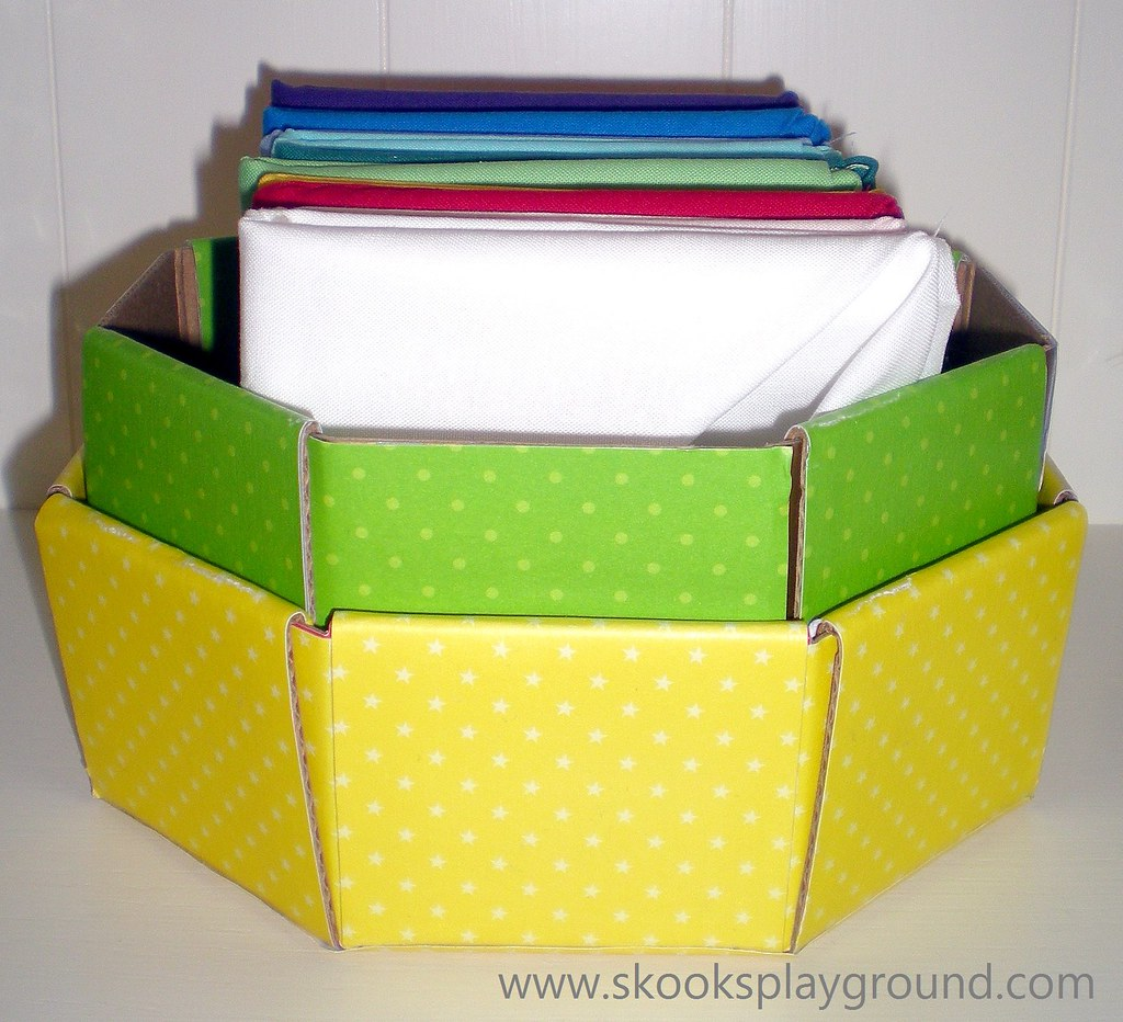 Kona Cotton Fat Quarter Storage