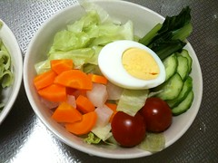 朝食サラダ(2011/6/22)