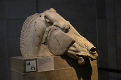 British Museum: Parthenon Wing (SpirosK photography) Tags: sculpture archaeology statue greek ancient statues ancientgreek archaelogical