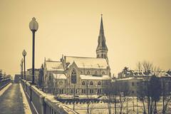 Church Downtown Guelph (ildikoannable) Tags: guelph church building architecutre