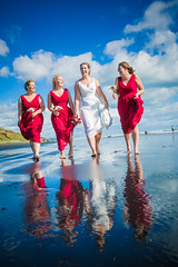 Sarah and her girls (Digital Sublime) Tags: wedding marriage groom bride bridal bridalhair makeup portrait portraiture couple newlywedded husband wife nz pro newzealand auckland northisland southisland professional photographer weddingphotographer beautiful lovely pretty amazing outdoor cute beach groomsmen bridesmaid bridesmaids dance eyes bridalparty girls gown suit