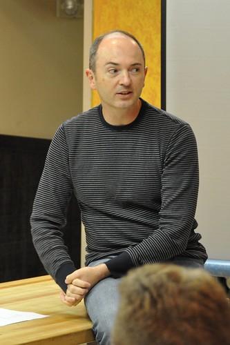 Dave Culbertson at Web Analytics Wednesday
