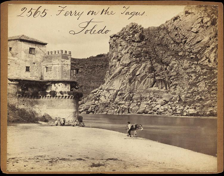 Casa del Diamantista y Cerro del Bú hacia 1860. Fotografía de Francis Frith. © Victoria and Albert Museum, London