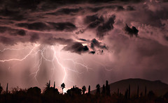 Wicked (Eye of the Storm Photography) Tags: night lightning monsoonstorms