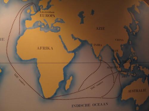 Tea transportation across the world