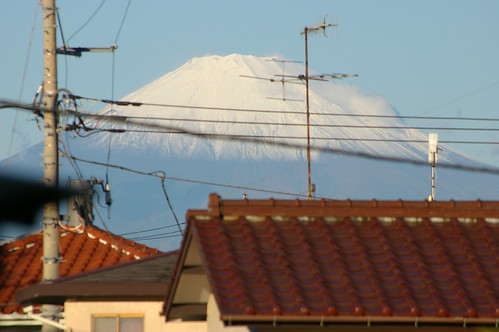 snow-capped peak