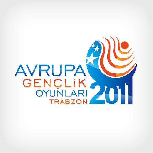 Avrupa Gençlik Oyunları Trabzon 2011 Logo Yarışması Tasarımı