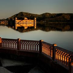 lake palace@Jaipur.Rajasthan (rinogas) Tags: sunset india lake nikon palace hdr rajasthan jodhpur rinogas
