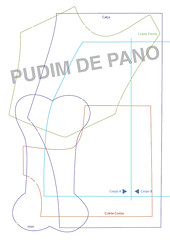 DUDU_molde1 (pudim_de_pano) Tags: artesanato cachorro molde bonecadepano costura