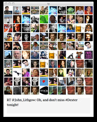 Twitter Search Interface: #dexter