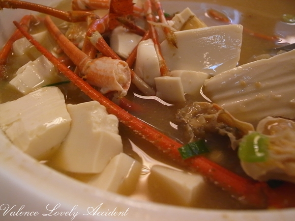 昶帝嶺_龍蝦味噌豆腐湯