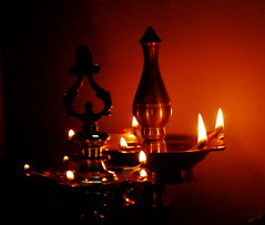 Lamp (Velachery Balu) Tags: light lamp flame vilakku deepam kuthuvilakku