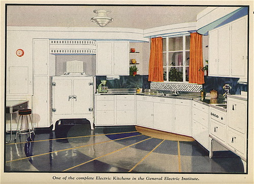The New Art cookbook, 1934: Model kitchen