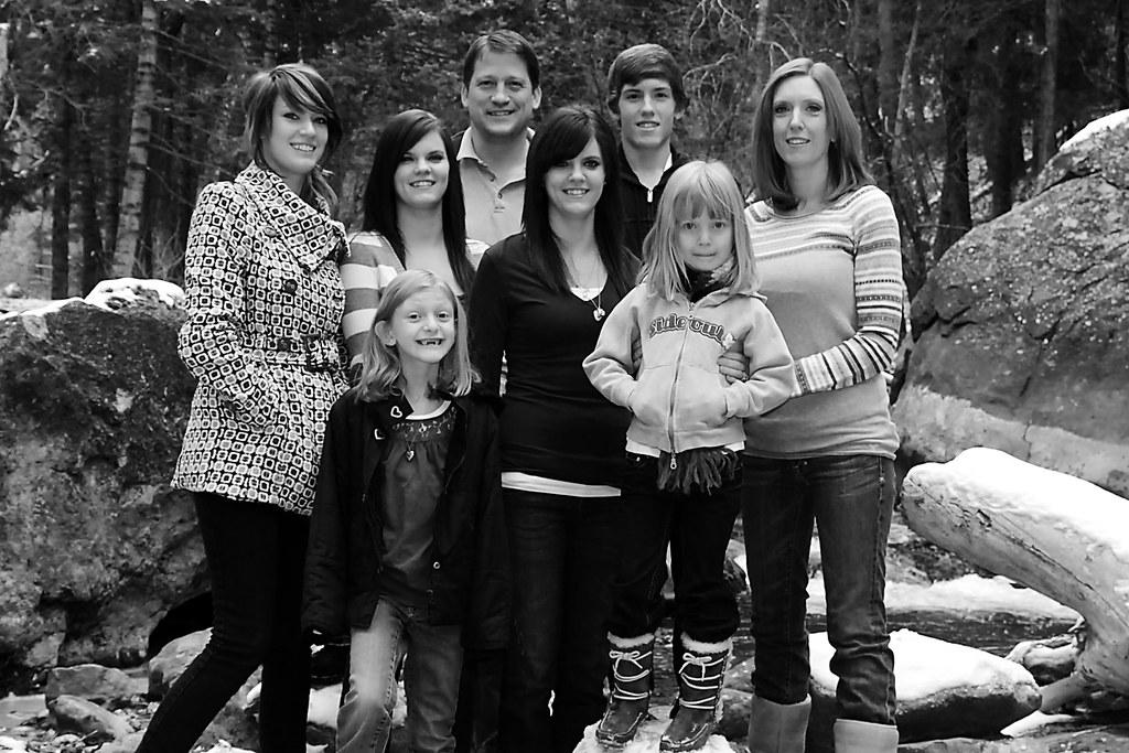 Family pics 11 09 4x6  ls bw