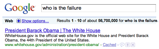 Who Is The Failure