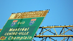 Signs - Starlings stopping for tourist info on their migration south - Hwy 40E near Hwy 15S mC20091117 013 (fotoproze) Tags: signs canada quebec montreal humor humour 2009 stimmung signes zeichen muestras segni  sinais hiwmor tekens  humeur umorismo  huumori  greann umore   umor   mizah     hihc  hmor    umorez