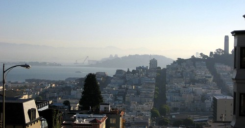 Top of Lombard Street, but with different focus
