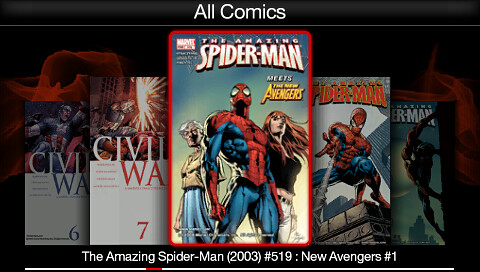 Digital Comics Reader for PSP