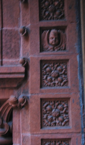 Cherub And Floral Motifs - Entrance