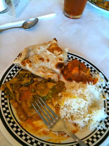 Kadhai dinner