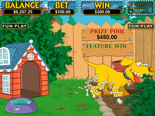 free Golden Retriever slot bonus game