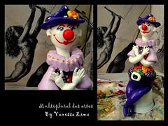 """Sou da paz"" (Art Vanessa Lima) Tags: clown artesanato paz palhaos cabaas porongos vanessalima"
