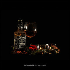 The Good Old Uncle Jack | Still-life (Any.colour.you.like) Tags: stilllife jack 50mm nikon tennessee flash tripod whiskey daniels d200 nikkor jackdaniels manfrotto sb800 nikkor50mmf14 nikond200 strobist challengeyouwinner