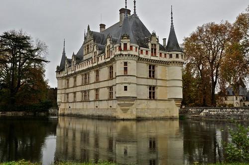 Azay Le Rideuau Chateau