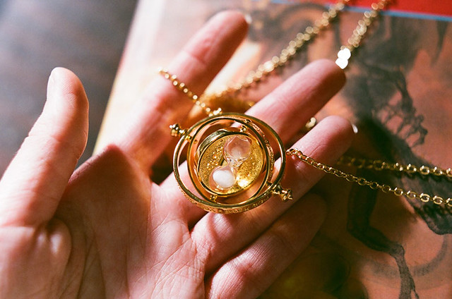 Hermione's Time-Turner necklace