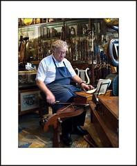 Andre Bissonnet - His Music Shop (joekennedy52) Tags: portrait music paris france shop andre nikon200 bissonnet andrebissonnet