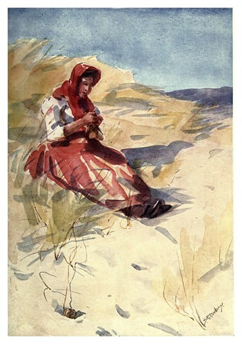 026-En las dunas de arena-Portugal its land and people- Ilustraciones de S. Roope Dockery 1909