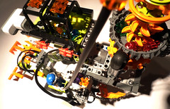 Power Miners Explo (r ) Tags: ir lights robot power control lego led technic remote motor functions rc receiver mindstorms bot miners explo moc nxt