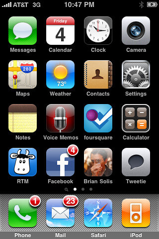 Brian Soliss iPhone Application (from briansolis.com, December 7, 2009)