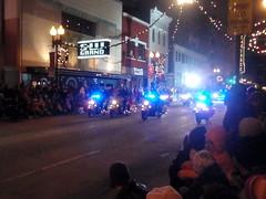 police parade escort