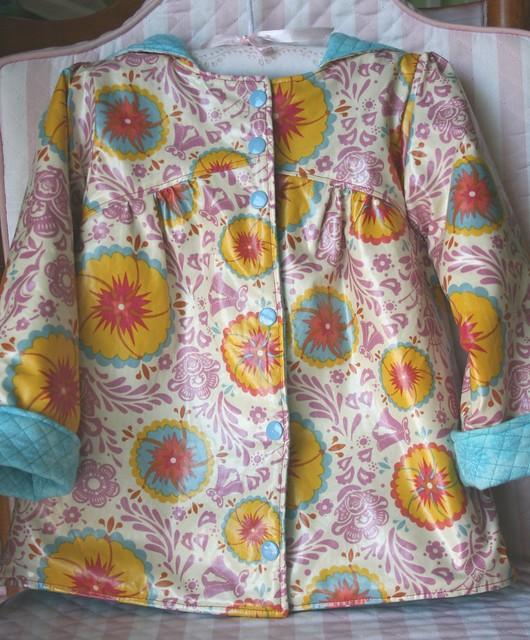 Casaco - frente / Rain coat - front