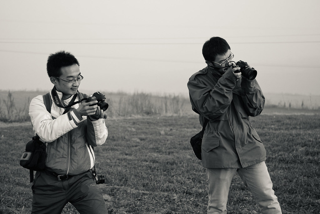 Sunset photoshoot in Weinan 渭南日落