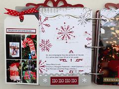 DAY 11 tiquette  cot de la page (alexandra s.m.) Tags: christmas scrapbooking paper album mini noel papier decemberdaily artscrapmore albumdelavent