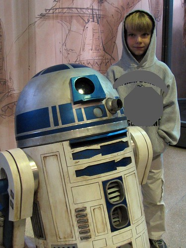 Shark Boy and R2D2