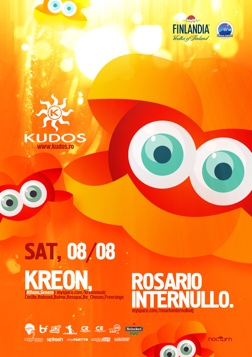 kudos beach poster - kreon, internullo