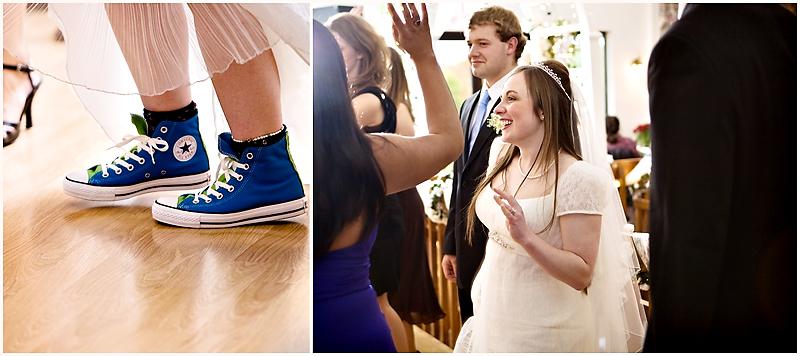 29 blue shoes