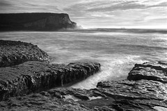 Bonny Doon Beach - Davenport, California, USA (Rich Capture) Tags: california sea bw usa santacruz seascape beach water rock canon landscape eos tripod richard gitzo formations bonnydoonbeach oceanpacific ef2470mmf28l g1178m 5dmark2 richardmatyskiewicz matyskiewicz g026