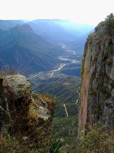 Barranca de Urique desde el Cerro del Gallego