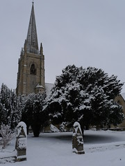 St Mark's Church in Snow (James Trickey) Tags: uk winter england snow cold snowy deep cotswolds gloucestershire arctic icy blizzard cheltenham wintry