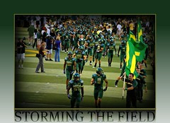 STORMING THE FIELD! (Michael Lechner) Tags: college sports oregon football ducks eugene ncaa picnik eugeneoregon goducks oregonducks collegefootball autzen collegesports pac10 division1 autzenstadium oregonducksfootball mightyoregon ducksspirit