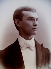 Handsome teen c 1890's formal portrait (pince_nez2008) Tags: portrait man sexy beautiful lens nose glasses student eyes young handsome highschool formalwear teenager graduate collar eyeglasses myopic lenses eyewear 1890s eyeglass nearsighted nosebridge noseglasses pincenez noseclip rimlessglasses antiquefashion rimlesseyeglasses noseeyeglasses pinchnoseglasses